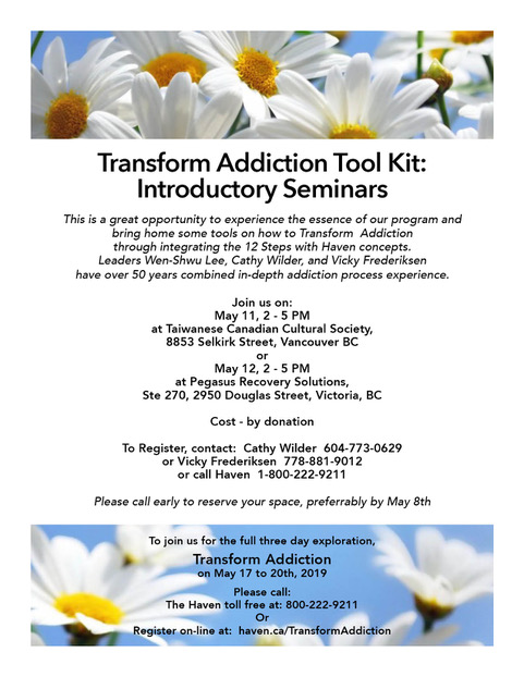 Transform Addiction Toolkit